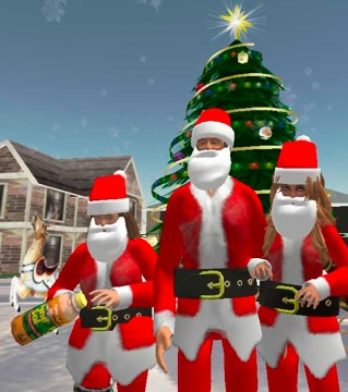 Santarchy In Second Life